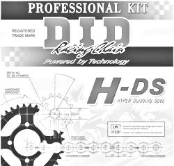 D.I.D KIT SET HDS